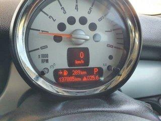 2011 Mini Hatch R56 LCI Cooper Steptronic Midnight Black 6 Speed Sports Automatic Hatchback