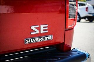 2015 Nissan Navara D40 S9 Silverline SE Red 5 Speed Automatic Utility
