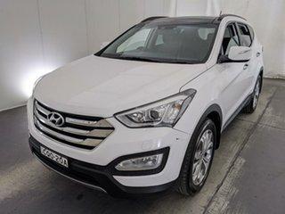2013 Hyundai Santa Fe DM MY13 Highlander White 6 Speed Sports Automatic Wagon.