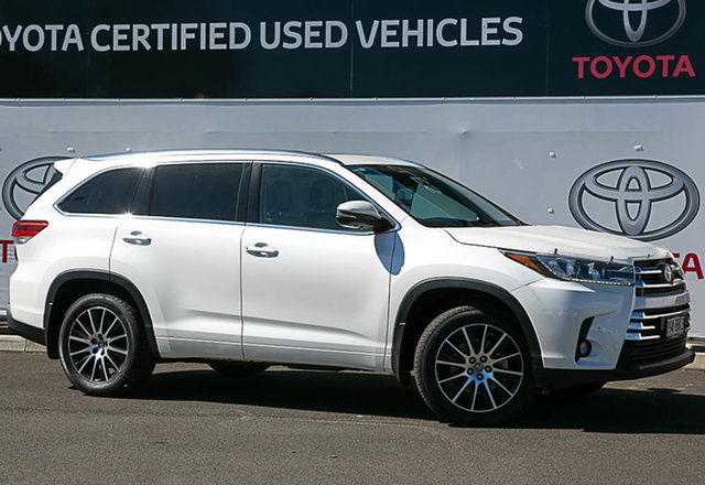 Pre-Owned Toyota Kluger GSU50R MY17 Grande (4x2) Warwick, 2017 Toyota Kluger GSU50R MY17 Grande (4x2) Crystal Pearl 8 Speed Automatic Wagon