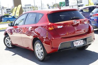 2013 Toyota Corolla ZRE182R Ascent Sport Red 6 Speed Manual Hatchback.