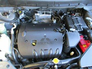 2009 Mitsubishi Outlander ZG MY09 Activ Grey 6 Speed Constant Variable Wagon