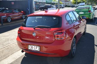 2013 BMW 118i F20 Sport Line Red 8 Speed Automatic Hatchback.