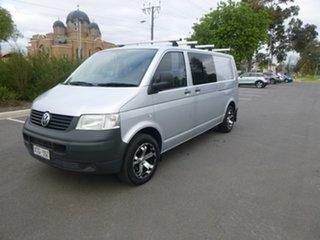 2008 Volkswagen Transporter T5 Crewvan Silver Manual Van.
