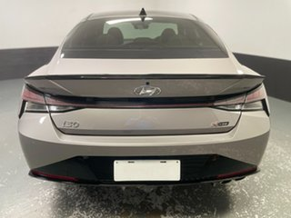 2020 Hyundai i30 CN7.V1 MY21 N Line D-CT Fulid Metal 7 Speed Sports Automatic Dual Clutch Sedan