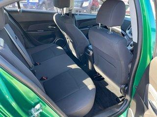 2011 Holden Cruze JH CD Green 6 Speed Automatic Sedan