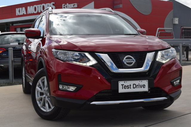 Used Nissan X-Trail T32 Series II ST-L X-tronic 2WD Echuca, 2018 Nissan X-Trail T32 Series II ST-L X-tronic 2WD Ruby Red 7 Speed Constant Variable Wagon