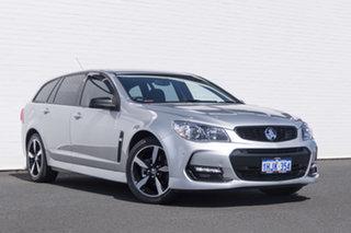 2016 Holden Commodore VF II MY16 SV6 Sportwagon Silver 6 Speed Sports Automatic Wagon.