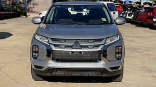 2021 Mitsubishi ASX XD MY21 ES-L 2WD Sterling Silver 1 Speed Constant Variable Wagon.