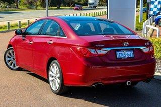 2012 Hyundai i45 YF MY11 Premium Red 6 Speed Sports Automatic Sedan.
