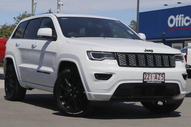 Used Jeep Grand Cherokee WK MY20 Night Eagle Aspley, 2020 Jeep Grand Cherokee WK MY20 Night Eagle White 8 Speed Sports Automatic Wagon