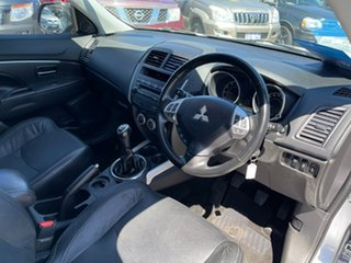 2012 Mitsubishi ASX XA MY12 Platinum Edition (2WD) Silver 5 Speed Manual Wagon