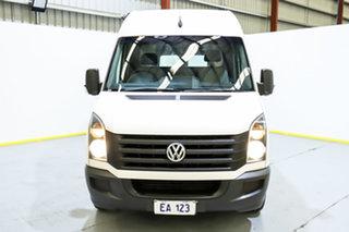 2016 Volkswagen Crafter 2EH1 MY15 35 TDI 300 LWB White 6 Speed Manual Van.