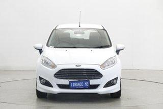 2018 Ford Fiesta WZ Sport PwrShift White 6 Speed Sports Automatic Dual Clutch Hatchback.