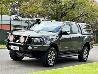 2017 Ford Ranger PX MkII Wildtrak Double Cab Meteor Grey 6 Speed Sports Automatic Utility.