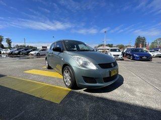 2011 Suzuki Swift FZ GA Green 5 Speed Manual Hatchback.