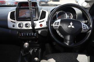 2014 Mitsubishi Triton MN MY15 GLX-R Double Cab Bronze 5 Speed Manual Utility
