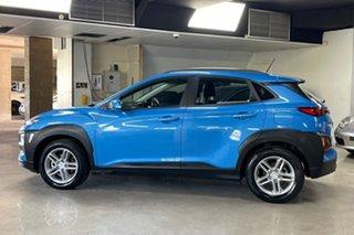 2019 Hyundai Kona OS.3 MY20 Active 2WD Blue 6 Speed Sports Automatic Wagon