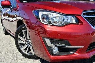 2015 Subaru Impreza G4 MY15 2.0i Lineartronic AWD Premium Venetian Red 6 Speed Constant Variable.