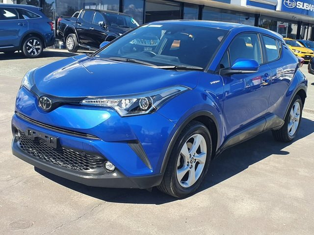 Used Toyota C-HR NGX10R S-CVT 2WD Gympie, 2019 Toyota C-HR NGX10R S-CVT 2WD Blue 7 Speed Constant Variable Wagon
