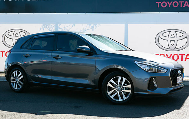 Pre-Owned Hyundai i30 PD Active Warwick, 2018 Hyundai i30 PD Active Grey 6 Speed Auto Sequential Hatchback