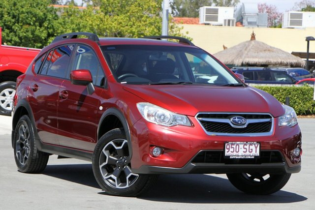 Used Subaru XV G4X MY12 2.0i-L Lineartronic AWD Aspley, 2012 Subaru XV G4X MY12 2.0i-L Lineartronic AWD Camellia Red Pearl 6 Speed Constant Variable Wagon