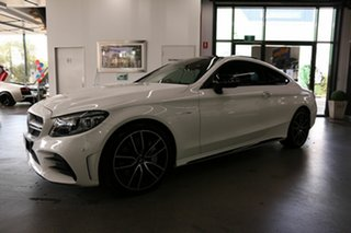 2020 Mercedes-Benz C-Class C205 800+050MY C43 AMG 9G-Tronic 4MATIC White 9 Speed Sports Automatic