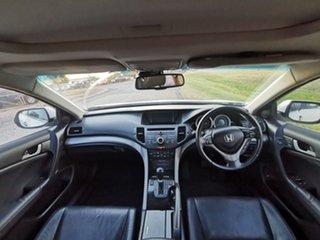 2009 Honda Accord Euro CU Luxury Navi White 5 Speed Automatic Sedan