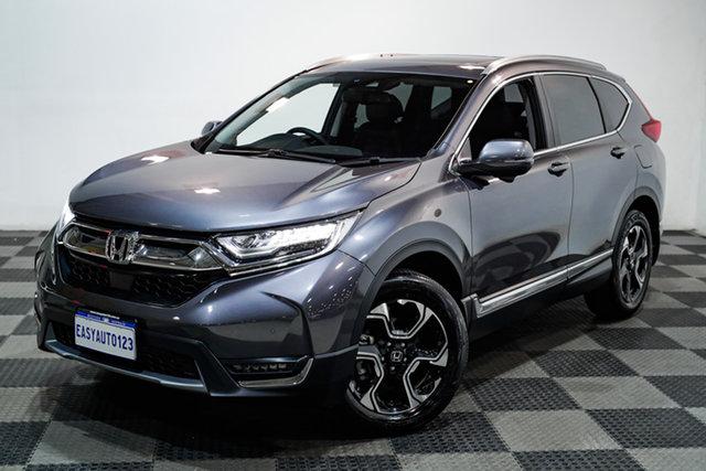 Used Honda CR-V RW MY19 VTi-LX 4WD Edgewater, 2019 Honda CR-V RW MY19 VTi-LX 4WD Grey 1 Speed Constant Variable Wagon