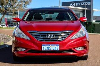 2012 Hyundai i45 YF MY11 Premium Red 6 Speed Sports Automatic Sedan