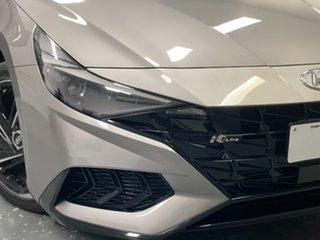 2020 Hyundai i30 CN7.V1 MY21 N Line D-CT Fulid Metal 7 Speed Sports Automatic Dual Clutch Sedan.