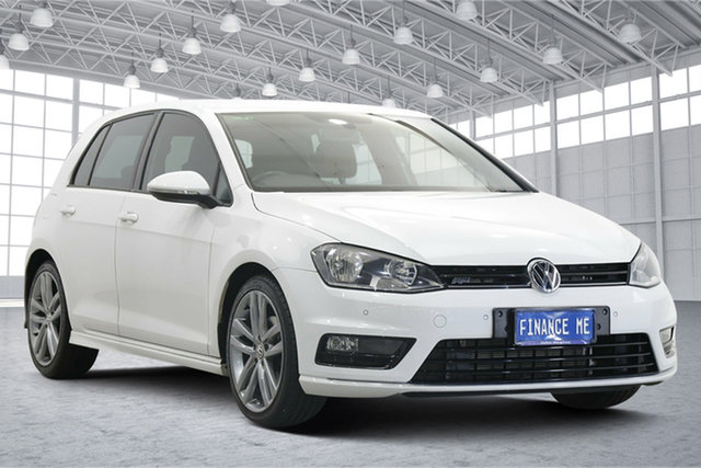Used Volkswagen Golf VII MY16 110TSI DSG Highline Victoria Park, 2016 Volkswagen Golf VII MY16 110TSI DSG Highline White 7 Speed Sports Automatic Dual Clutch