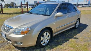 2007 Kia Cerato LD MY07 EX Gold 4 Speed Automatic Sedan.