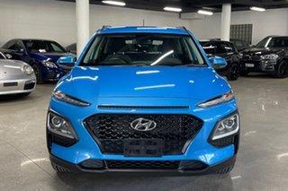 2019 Hyundai Kona OS.3 MY20 Active 2WD Blue 6 Speed Sports Automatic Wagon.
