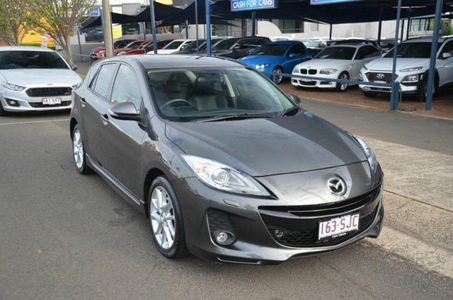 Used Mazda 3 BL 11 Upgrade SP25 Toowoomba, 2012 Mazda 3 BL 11 Upgrade SP25 Grey 5 Speed Automatic Hatchback