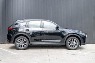 2021 Mazda CX-5 KF4WLA Akera SKYACTIV-Drive i-ACTIV AWD Jet Black 6 Speed Sports Automatic Wagon.
