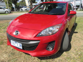 2013 Mazda 3 BL10F2 MY13 Maxx Activematic Sport Red 5 Speed Sports Automatic Hatchback.