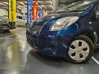 2007 Toyota Yaris NCP91R YRS Metallic Blue 4 Speed Automatic Hatchback
