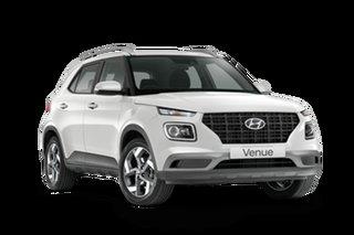 2021 Hyundai Venue QX.V3 Active Polar White 6 Speed Automatic Wagon