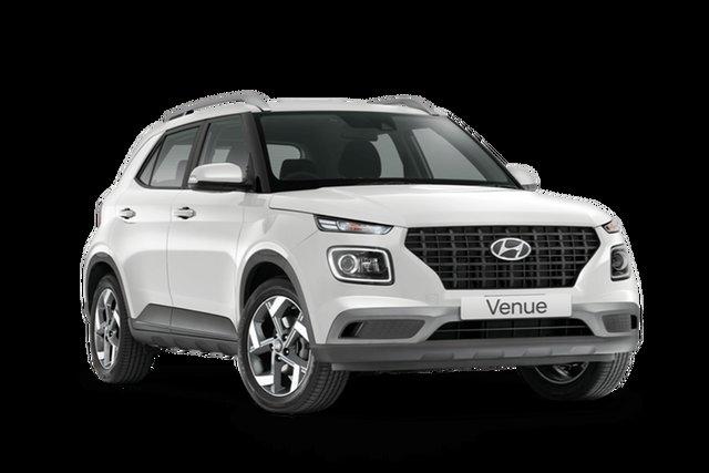 New Hyundai Venue Active Rutherford, 2021 Hyundai Venue QX.V3 Active Polar White 6 Speed Automatic Wagon