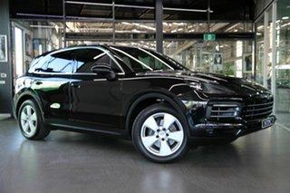 2018 Porsche Cayenne 9YA MY19 Tiptronic Black 8 Speed Sports Automatic Wagon.