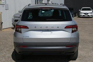 2021 Skoda Karoq NU MY21 110TSI FWD Brilliant Silver 8 Speed Automatic Wagon