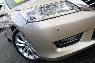 2013 Honda Accord 9th Gen MY13 VTi-L Champagne Frost 5 Speed Sports Automatic Sedan.