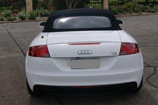 2011 Audi TT 8J MY12 2.0 TFSI Quattro White 6 Speed Direct Shift Roadster.