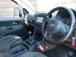 2012 Volkswagen Amarok 2H MY12.5 TDI400 4Mot Highline Brown 6 Speed Manual Utility