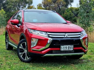 2018 Mitsubishi Eclipse Cross YA MY19 Exceed 2WD Red Diamond 8 Speed Constant Variable Wagon.