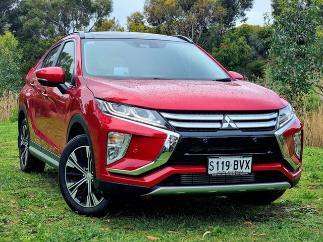 Used Mitsubishi Eclipse Cross YA MY19 Exceed 2WD Morphett Vale, 2018 Mitsubishi Eclipse Cross YA MY19 Exceed 2WD Red Diamond 8 Speed Constant Variable Wagon