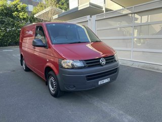 2011 Volkswagen Transporter T5 MY12 TDI340 Low Roof SWB DSG Red 7 Speed Sports Automatic Dual Clutch.