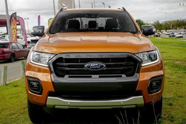 New Ford Ranger PX MkIII 2021.75MY Wildtrak Oakleigh, 2021 Ford Ranger PX MkIII 2021.75MY Wildtrak Orange 6 Speed Sports Automatic Double Cab Pick Up