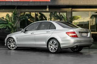 2011 Mercedes-Benz C-Class W204 MY11 C250 BlueEFFICIENCY 7G-Tronic + Elegance Silver 7 Speed.